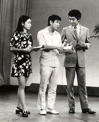 *[東京都体育館] 1973 TV「青島幸男ワイドショー」準レギュラー出演 *日テレ 1974
